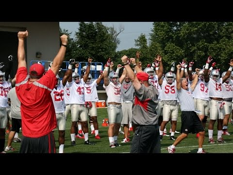 Ohio State Football: Training Camp 8/5/14