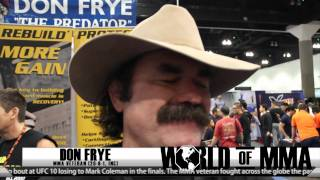 Don Frye Says Dana White is Trying To Erase Him From the UFC