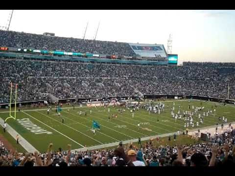 October 3rd, 2010 at Everbank Field in Jacksonville, FL.