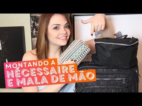 #KarolUK: Minha nécessaire de viagem + arrumando a mala de mão • Karol Pinheiro