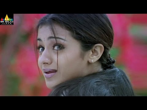 Nuvvostanante Nenoddantana Movie Scenes | Siddhartha Helps Trisha | Sri Balaji Video