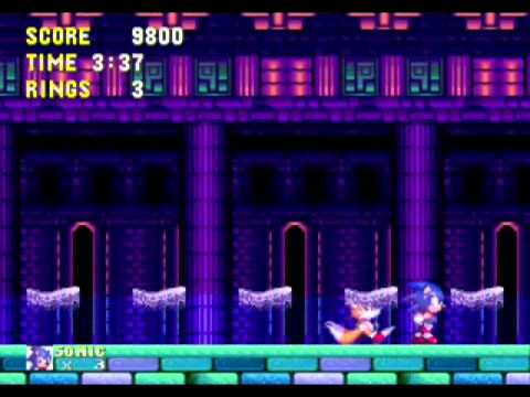 Sonic the Hedgehog 16-Bit Saga Boss Run (with annotations)
