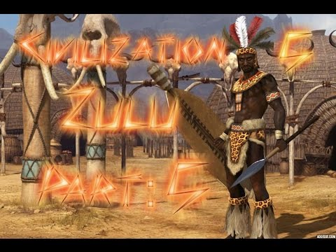 """Part 5: Let's Play Civilization 5, Brave New World, The Zulu - """"Raiding Party!"""""""