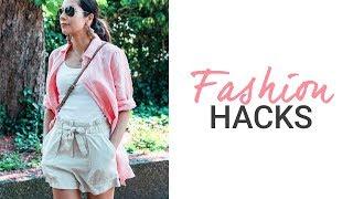 5 fashion hacks that will make you always look stylish | Lookbook H&M, Mango | natashagibson