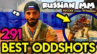 TYPICAL RUSSIAN MATCHMAKING ! - CS:GO BEST ODDSHOTS #291