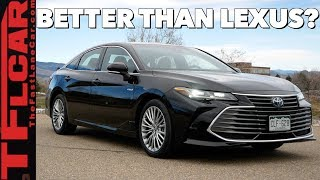 The 2019 Toyota Avalon is the Most Luxurious Car Toyota Sells in the US