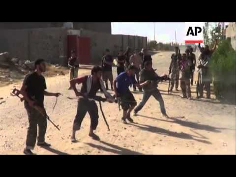 Dramatic cover of clashes between rival militia in tense capital