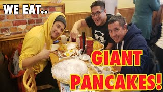 Giant Pancakes - Breakfast at Country Pancake House