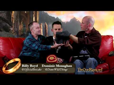 Billy Boyd Dominic Monaghan LIVE - Merry and Pippin Second Breakfast Reunion Special