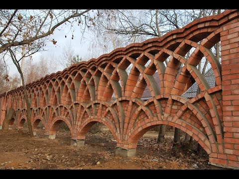 Забор из Кирпича элитное ограждение для Дома