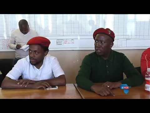 Malema calls Tembisa police unreasonable