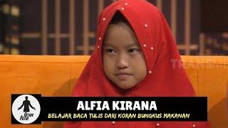 Alfia Kirana, Belajar Baca Tulis Dari Koran Bungkus Makanan | HITAM PUTIH (30/10/18) Part 4