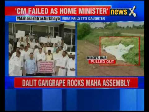 Minor gang-rape rocks Maharashtra Assembly