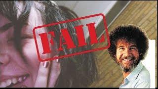 bob ross chia pet fail (emotional) *not clickbait*