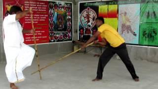 Silambam Thukdda Kuthuvarisai Varmakalai fighting