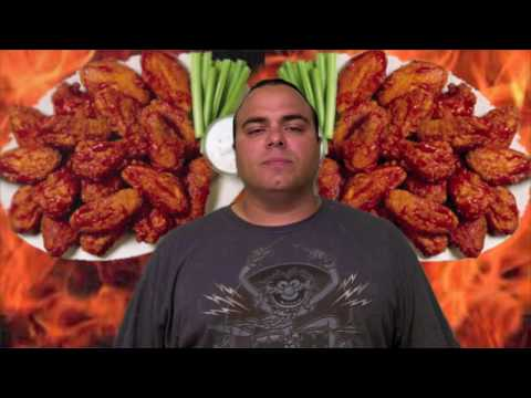 Bhut Jolokia Ghost Chili Chicken Wing Challenge