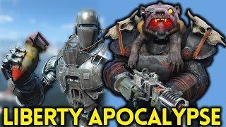 Fallout 4 LIBERTY PRIME APOCALYPSE - Gameplay Ep. 15