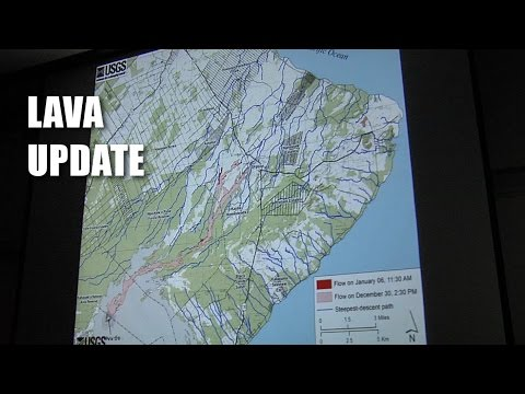 Lava Update By USGS HVO