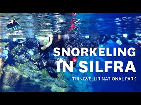 Silfra Snorkeling Tour Video