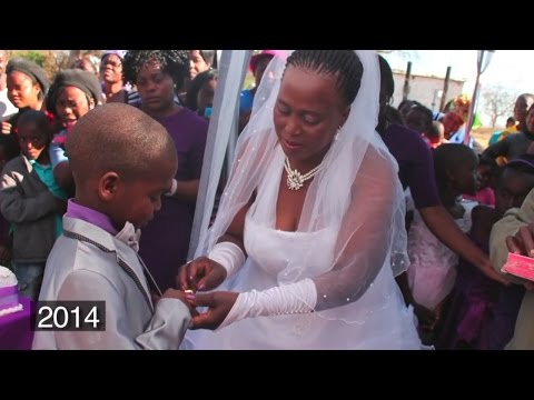 9 Year Old Boy Marries 62 Year Old Woman (VIDEO)