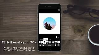 Analog Acoustic - App chỉnh ảnh Film giống Gudak Cam
