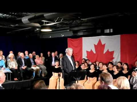 """Harper on Syrian """"refugees"""" and the economy"""