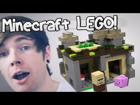 MINECRAFT LEGO (Unboxing & Building)   TheDiamondMinecart