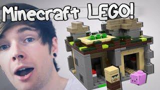 MINECRAFT LEGO (Unboxing & Building) | TheDiamondMinecart