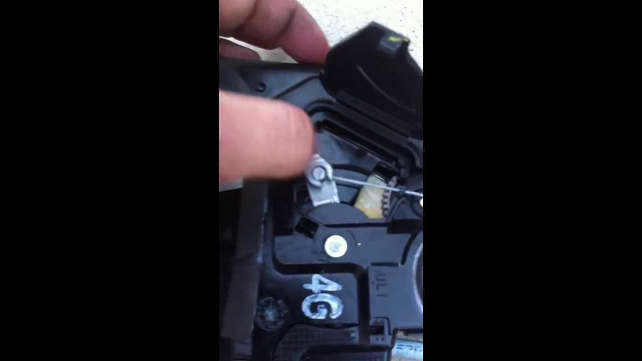 Stuck Jammed Child Lock Toyota Tundra How To Fix