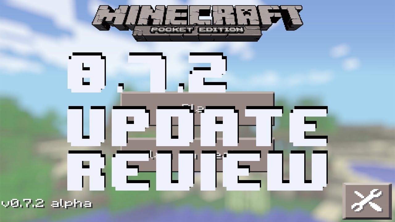 Minecraft Poket Edition 0.7.2 Для Андроид