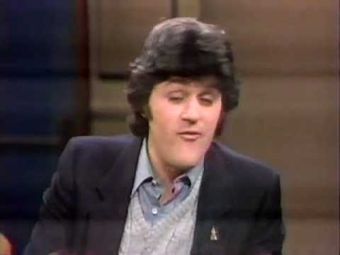 Jay Leno On Late Night W David Letterman Early 1980s