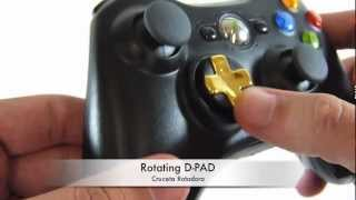 XBOX360 | Competitive Controller - SBXTactils - Adjustable Triggers - Rotating D-Pad | HG Arts Modz