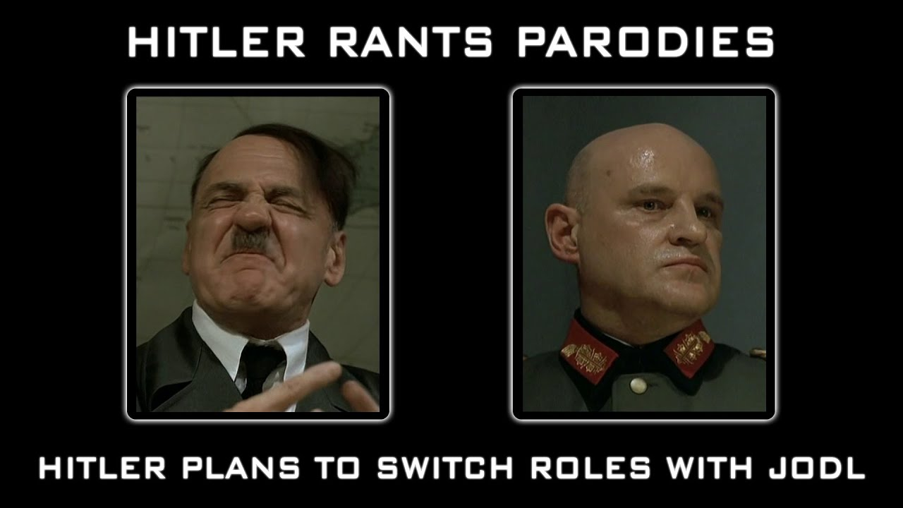 Hitler plans to switch roles with Jodl