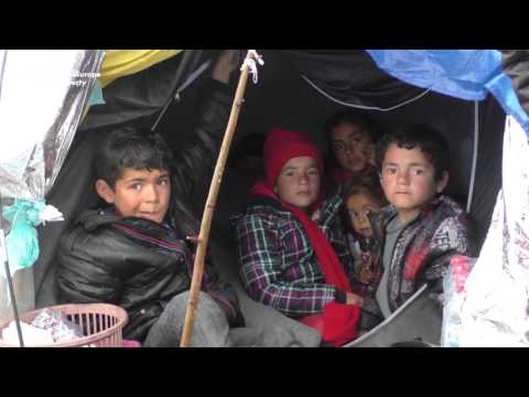 Syrians Remain Stuck On Macedonia-Serbia Border