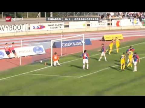 Schweizer Cup: FC Chiasso 0:1 Grasshoppers Zürich (2 Runde , 16.10.2011)