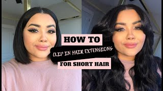 Clip in Extensions for SHORT Hair / Bellami Hair