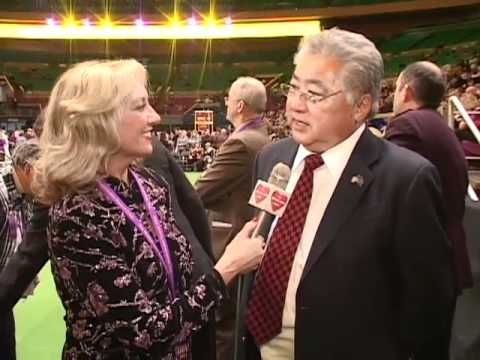 0 Burton Yamado, Judge for Westminster Kennel Club Dog Show 02/15/11 Madison Square Garden