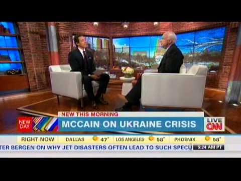 John McCain Says George W Bush Encouraged Putin To Invade Ukraine