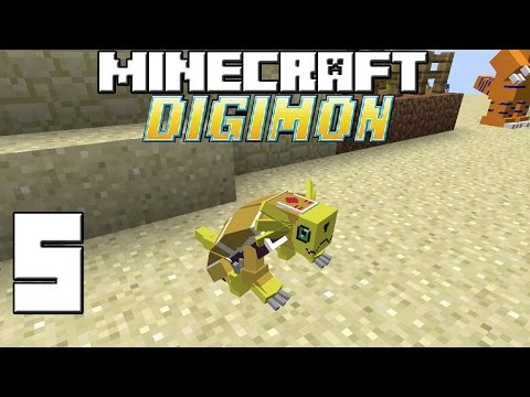 Minecraft Serie Digimon! Capitulo 5! video