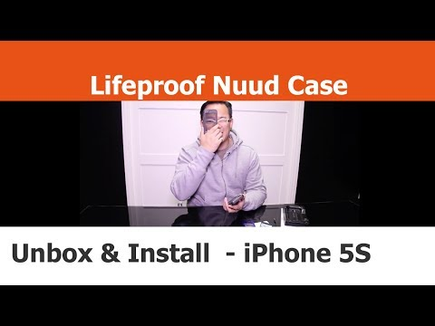 Unboxing and Install - Lifeproof Nuud Case with Touch ID - iPhone Cases