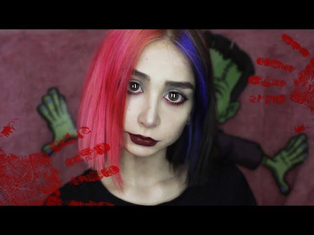 Вампиренок в городе | Повседневный макияж за 5 минут | make up tutorial