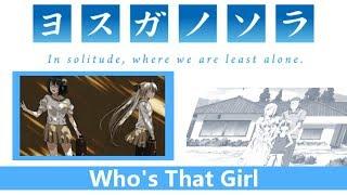 Yosuga no Sora AMV Who's That Girl Haru (Haru x Sora) reupload