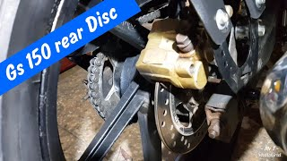 Project suzuki Gs 150 Rear Disc with rims
