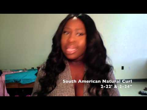 Hair Life Virgin Hair Review   South American Natural Curl
