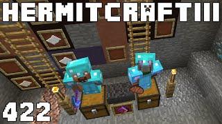 Hermitcraft III 422 ABBA Caving Tourney!