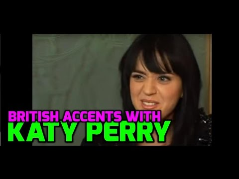 Katy Perry vs Beyonce's British accent