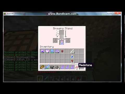 Minecraft How to Make Splash