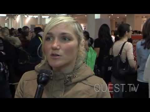 QUEST.TV New York Vegetarian Food Festival 2013 - Anastasia Garkusha