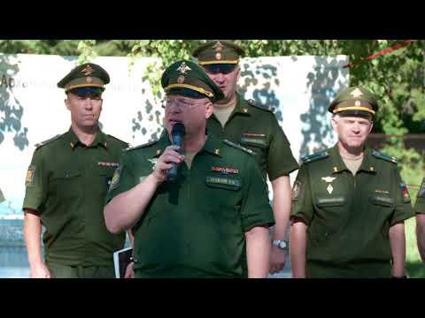 Открытие юнармейской смены в лагере «Лесная поляна», г.Мирный