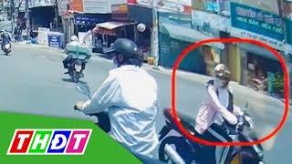Người phụ nữ ngang nhiên vượt đèn đỏ gây tai nạn rồi lạnh lùng bỏ đi   THDT